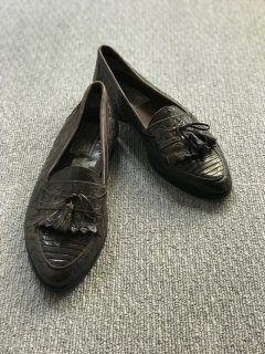 GIORGIO BRUTINI Tassel Loafer made in brazil 9 1/2 D