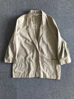 1990s Ramie×Cotton Relax Jacket