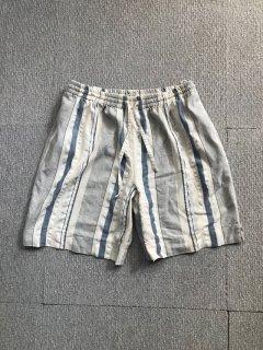 80's Euro Vintage stripe Relax Short Pants