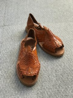 90's Brasília leather sandal