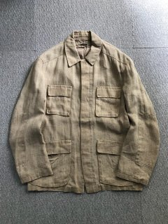 90's SPENCER BDU Linen Jacket MADE IN FRANCE