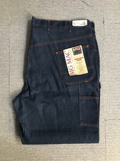 80's BIG MAC Denim Pants W50L29 DEAD STOCK