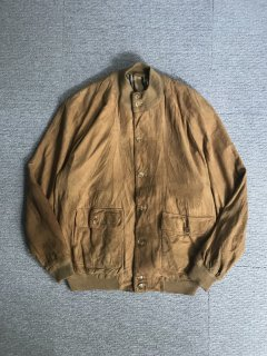 Vintage Burberrys' Nubuck Leather Valstar Blouson MADE IN ENGLAND