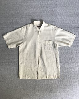 90's MISSONI linen S/S shirt MADE in ITALY