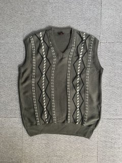 90's Cudi COLLECTION cotton knit vest M