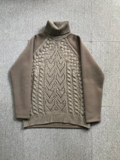 MM⑥ switch turtleneck Pullover M MADE IN ITALY