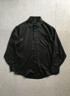 GEOFFREY BEENE Cotton×Polyester Shirt Black XL