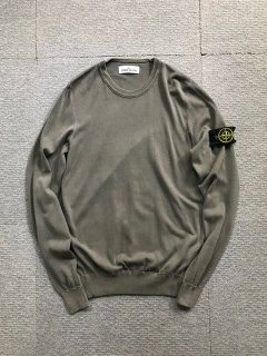 STONE ISLAND Cotton Knit MADE IN ITALY