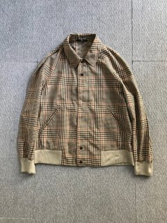 Valentino glen check Zip-Up Jacket MADE IN ITALY