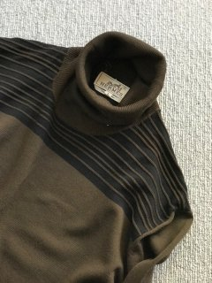 HERMES turtle neck Knit L MADE IN ITALY