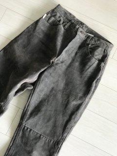 90's SKOTTS SUEDE Pants grey MADE IN CANADA