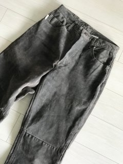 90's SKOTTS SUEDE Pants grey MADE IN CANADA