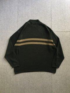 90's Wool Design Border Knit