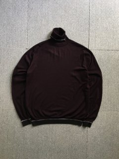 00's HERMES Wool Turtle Neck Knit Made in Italy