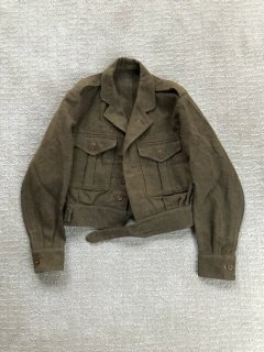 """1949's British Army Vintage Blouse,Buttle Dress """"1949 Pattern"""""""
