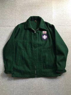 50's Boy Scouts Melton Wool Jacket