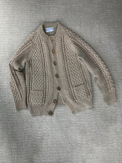 INVERALLAN 4A Golfer Cardigan MADE IN SCOTLAND
