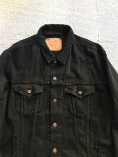 90's Levi's Black Denim Tracker Jacket XL