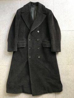90's HUGO BOS PIACENZA double Long Coat MADE IN PORTUGAL