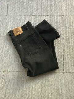 90's Levi's 517 stretch flare Pants BLACK