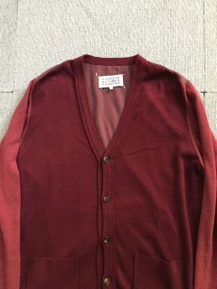 Maison Margiela Wool switch Cardigan  ⑭ M MADE IN Rumania