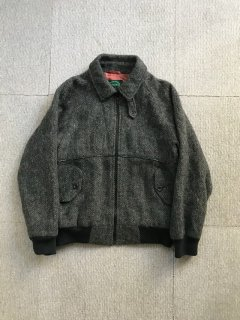 90's IZOD Wool Melton Full-Zip Jacket M
