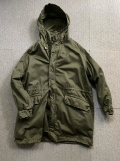 70's French Military M-64 Parka 92C ライナー付き