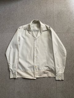 Euro Vintage Nylon White Shirt