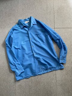 Euro Nylon Bule Shirt MADE IN FRANCE
