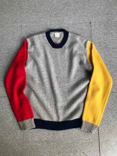 Country of Origin Multicolor Wool Knit MADE IN ENGLANG