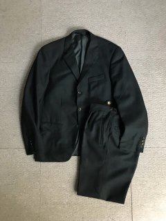 50's Euro Vintage 3button Single Front Wool Set Up