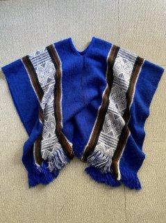 Vintage Unknown Wool Poncho