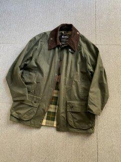 Barbour BEAUFORT Wax Cotton Jacket Sage-green 40