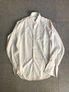 60's Manhattan Cotton Broad White Shirt