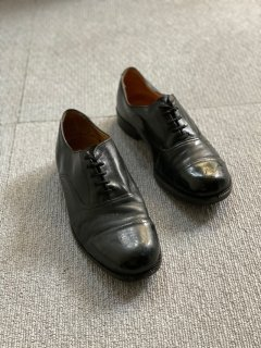 80's British ARMY/RAF (Royal Air Force) Military Cap toe Leater Shoes 7M