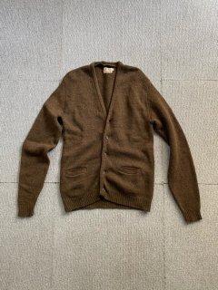 60's Parklee Shetland Wool Cardigan