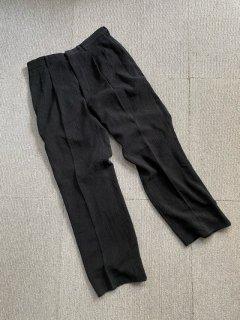 Vintage 2tuck  Slacks BLACK