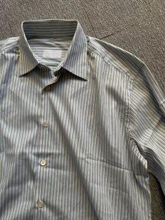 PRADA Broadcloth Cotton Stripe Shirt