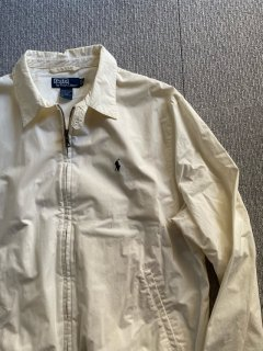 90's Polo by Ralph Lauren Drizzler Jacket White