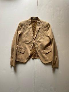 Ladies 00s GUCCI Cotton Tailored Jacket(IRVINE取り扱い商品)