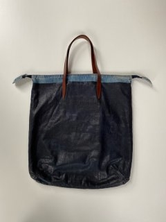 Dries Van Noten Denim Coding Tote Bag