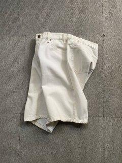 90's Levi's White Denim Shorts MADE IN U.S.A.