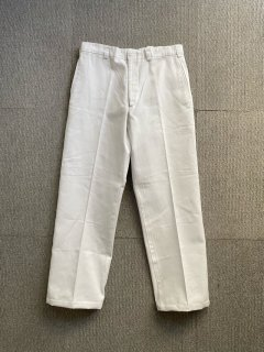Dead Stock U.S.Military Durable Trousers WHITE