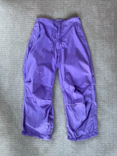90's Garment Dye U.S.ARMY Snow Camo Over Pants X-Small Regular
