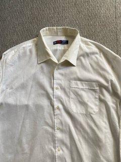 80's Euro Shark collar Cotton Shirt
