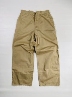60's U.S.Military Chino Trousers