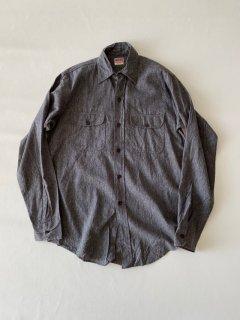 50's BIG MAC Black Chambray Shirt