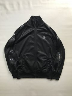 FRED PERRY Track Jacket Black MADE IN PORTUGAL