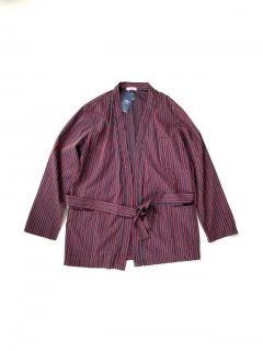 B&B Stripe Cotton gown Shirt 46 L程度 MADE IN ITALY  未使用
