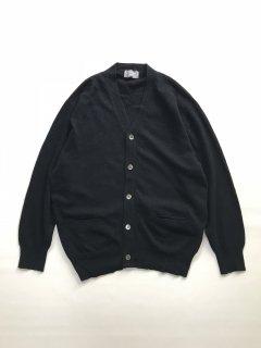 80's COMME des GARÇONS HOMME Wool Cardigan BLACK